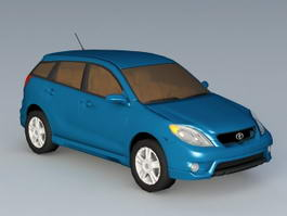 Toyota Matrix Compact Car 3d preview