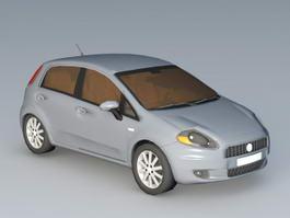 Fiat Punto 5-Door 3d preview