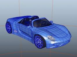 Porsche 918 Spyder 3d preview