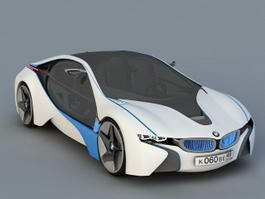 BMW Vision EfficientDynamics Concept Car 3d preview