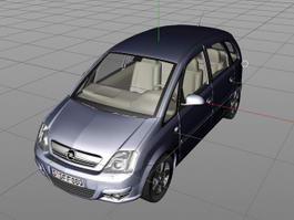 Opel Meriva 3d preview