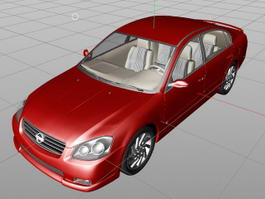Nissan Altima 3d preview