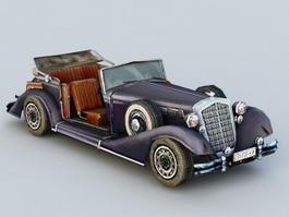 Horch Car 3d model preview