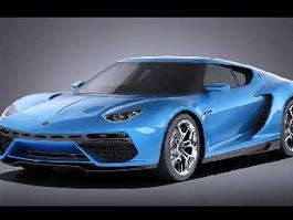 Lamborghini Asterion 3d preview
