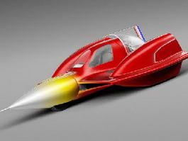 Sonic Car Turbo 3d preview