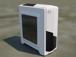 Gaming Computer Case 3d model preview