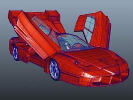 Enzo Ferrari 3d preview