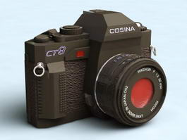 Old Cosina Camera 3d preview