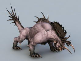 Beast Creature 3d model preview
