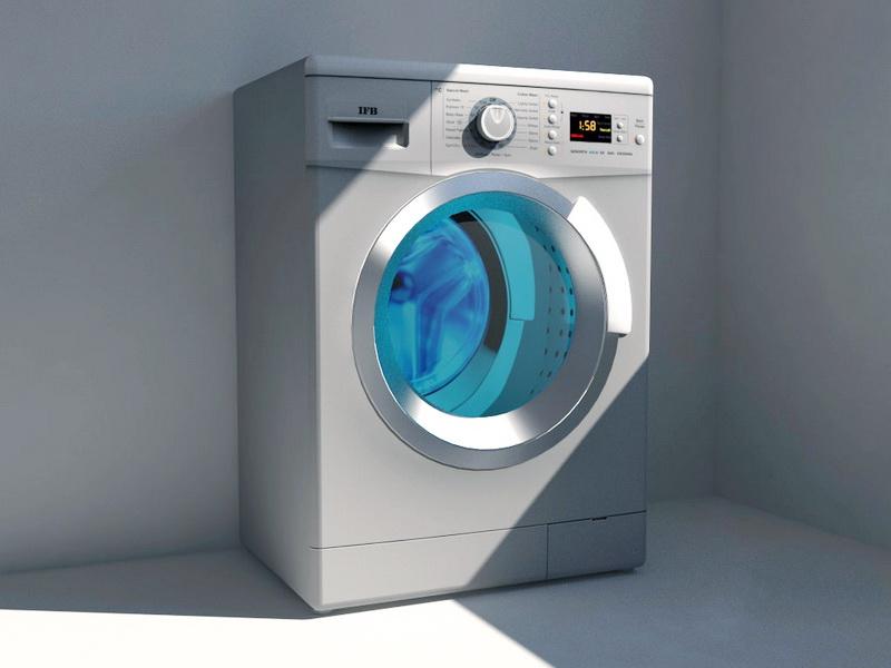 IFB Washing Machine 3d rendering