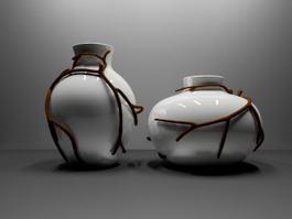 Decorative Vases 3d preview