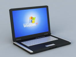 Netbook Computer 3d preview