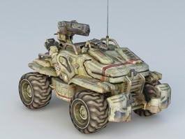 Sci-Fi Tank 3d preview