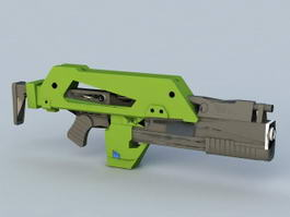 M41-A Pulse Rifle 3d preview