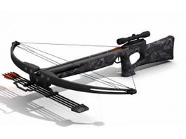Crossbow Weapon 3d preview