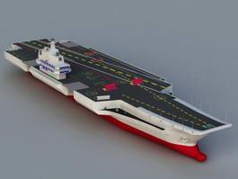 Aircraft Carrier 3d preview