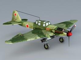 Ilyushin Il-2 Sturmovik 3d preview