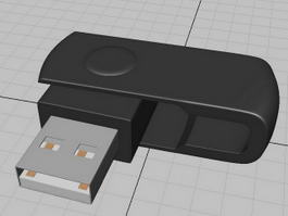 USB Flash Drive 3d preview
