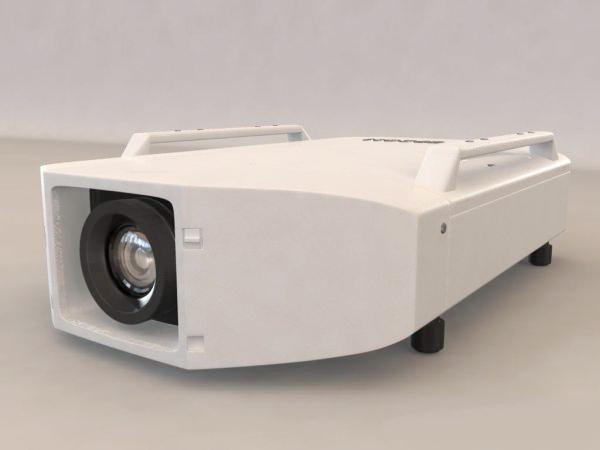 EPSON EB-Z9850W Projector 3d rendering