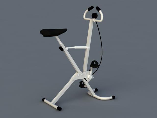 Exercise Stationary Bike 3d rendering