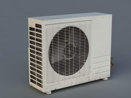 External Air Conditioner Unit 3d preview