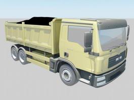 Big Dump Truck 3d preview