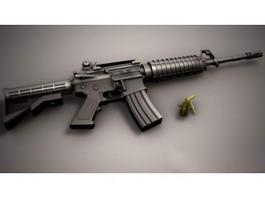 M4A1 Carbine Rifle 3d preview