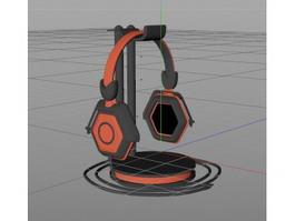 Headphone Series 3d model preview