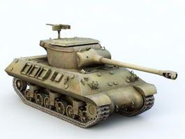 M36 Tank Destroyer 3d model preview