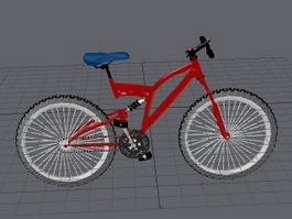 Mountain Bike Bicycle 3d preview