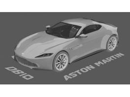 Aston Martin DB10 3d preview