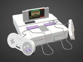 Super Nintendo 3d preview