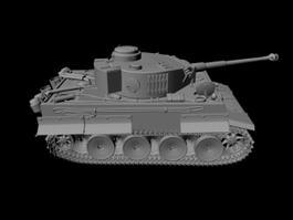 Army Tank 3d preview