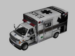 Ambulance Van 3d preview