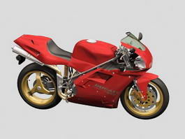 Ducati Motorcycle 3d preview