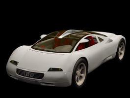 Audi Avus quattro 3d preview
