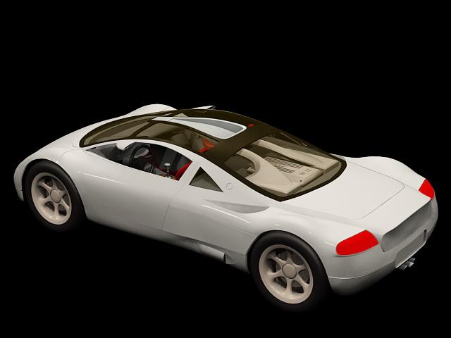 Audi Avus quattro 3d rendering