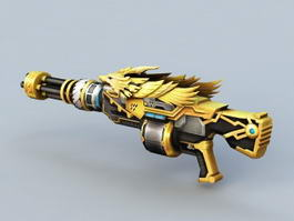 Crossfire Gold Weapon 3d preview