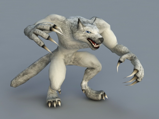 Werewolf Rig 3d Model 3ds Max Files Free Download