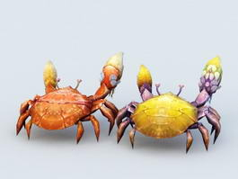 Cartoon Crab 3d preview