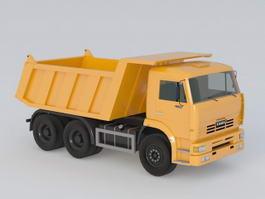 Construction Dump Truck 3d preview