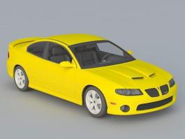 2005 Pontiac GTO 3d model preview
