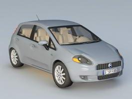Fiat Punto 3d preview