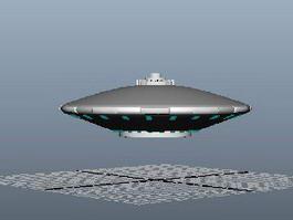UFO Alien Spaceship 3d preview