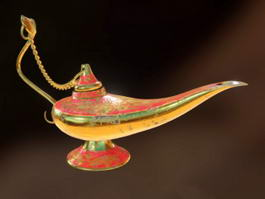Aladdin Magic Lamp 3d preview