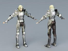 White Knight 3d preview