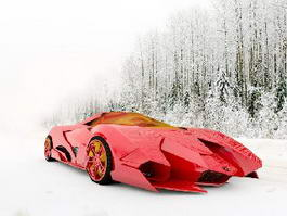 Lamborghini Egoista 3d preview