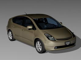 Toyota Prius Liftback 3d preview