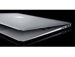 MacBook Air 3d model preview