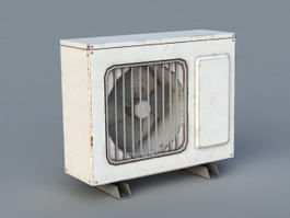 Old Air Conditioning Units 3d preview